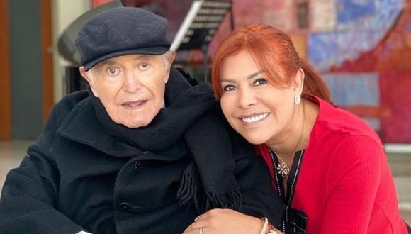 Magaly Medina confirmó que su padre se encuentra muy enfermo